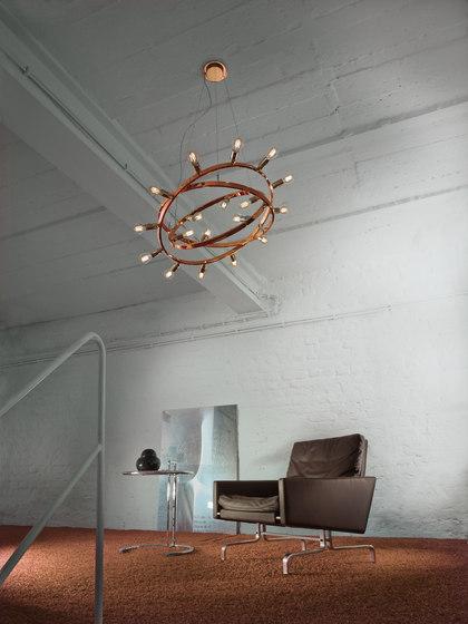 Dione 550 copper di Licht im Raum   Lampade sospensione