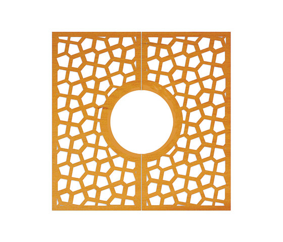 CorTen Tree Grid Magic by Streetlife | Tree grates / Tree grilles