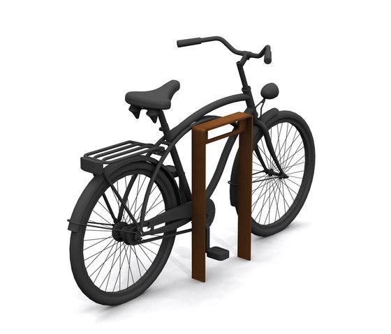 CorTen Bicycle Racks by Streetlife   Bicycle stands