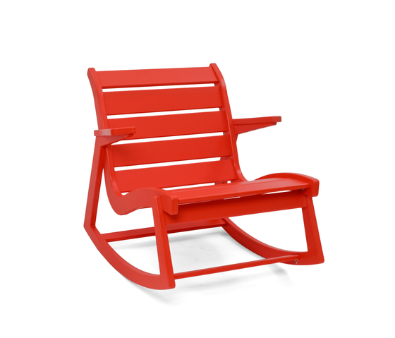 Rapson Rocker Low Back von Loll Designs | Armchairs