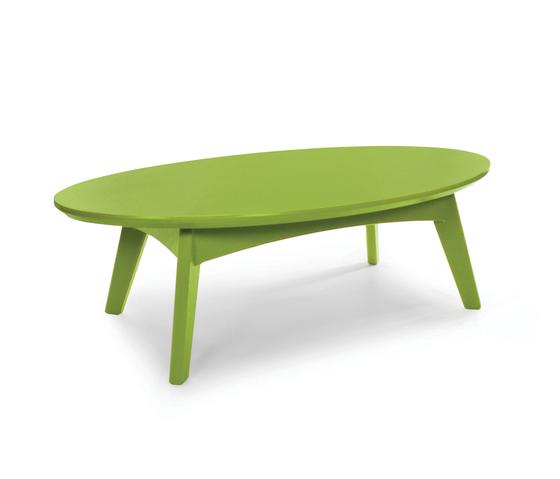 Satellite Cocktail Tables oval de Loll Designs | Mesas de centro