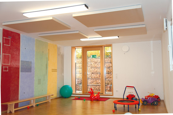 BaseLine│ceiling panel by silentrooms | Acoustic ceiling systems