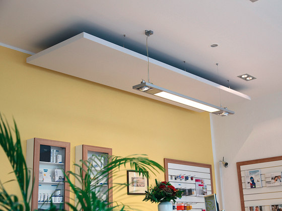 BaseLine│ceiling sail by silentrooms   Acoustic ceiling systems