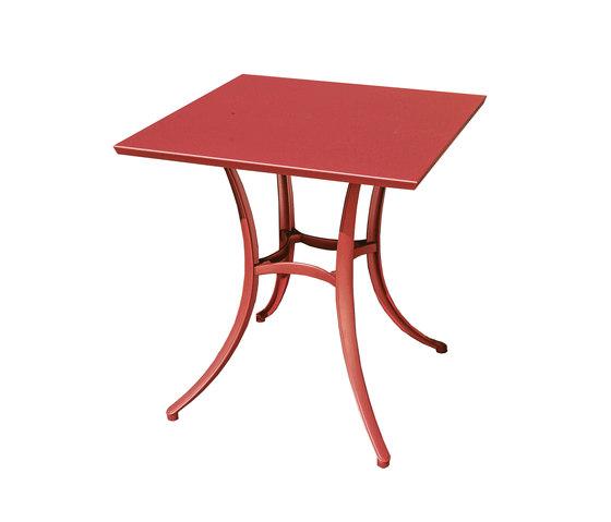 Omnia Selection - Jazz base 4legd Tonik tabletop di Fast | Tavoli pranzo