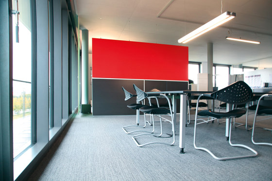 Space│partition by silentrooms | Sound absorbing freestanding systems