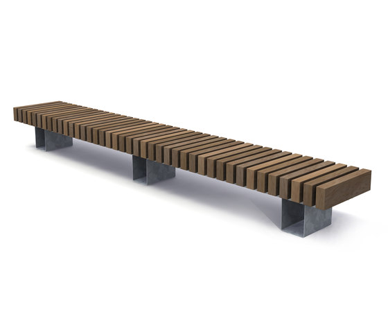 Rough & Ready Crosswise Benches de Streetlife | Bancos