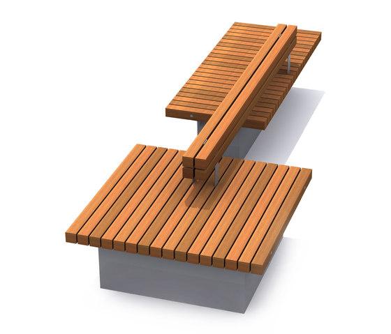 Solid Base Benches de Streetlife | Bancos