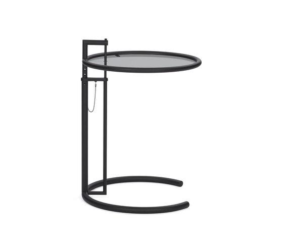 Adjustable Table E 1027 Black von ClassiCon | Beistelltische