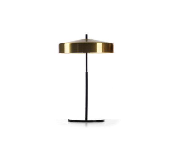 Cymbal 32 tablelamp brass colour by Bsweden   Table lights