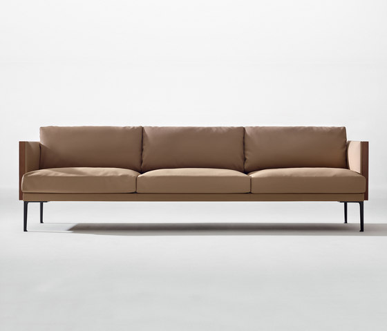Steeve 3 seater sofa by Arper | Sofas