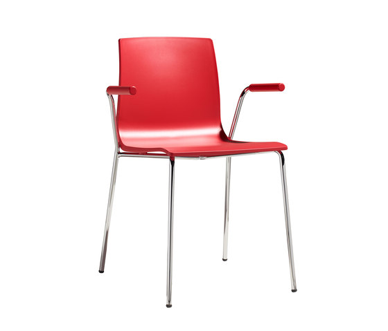 Alice with open armrests by Scab Design | Multipurpose chairs