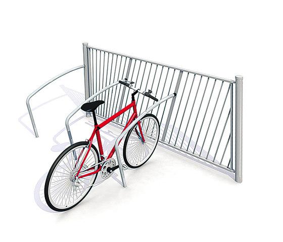 Standard Childproof Fence with Bicycle Parking de Streetlife | Barandillas / Balaustradas