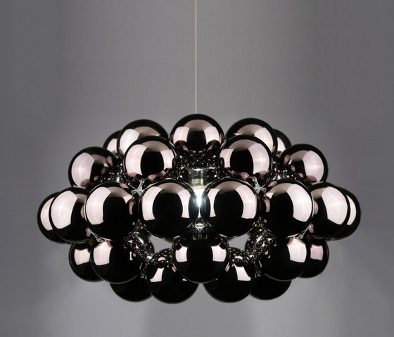 Beads Octo Gunmetal Pendant by Innermost | Suspended lights