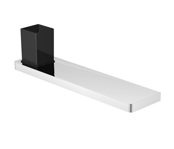 420 2022 Shelf with glass by Steinberg | Bath shelves