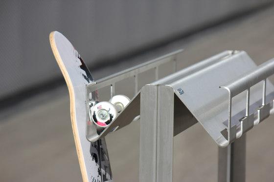 SkateboardZ by BURRI   Bicycle stands