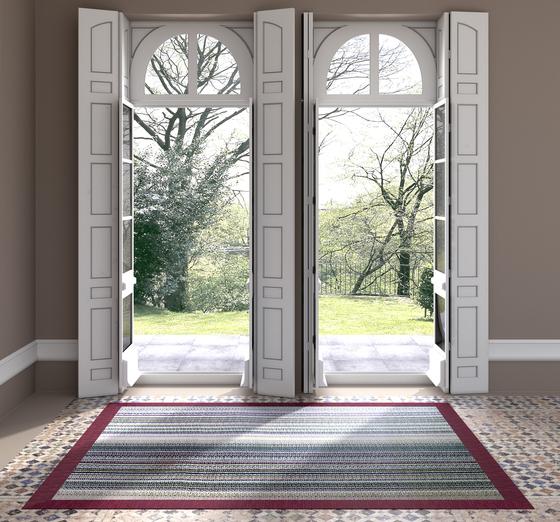 Eyecat | Texture Strio Texture Morado by WOOP RUGS | Rugs / Designer rugs