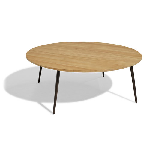 Vint low table 110 iroko by Bivaq | Coffee tables