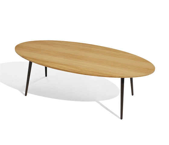 Vint low table 130x60 iroko by Bivaq | Coffee tables