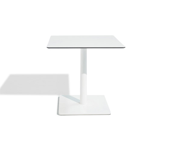 Sit central leg table by Bivaq | Bistro tables