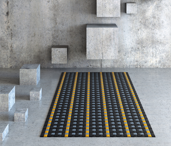 Kvadrato | Sao Paolo by WOOP RUGS | Rugs / Designer rugs