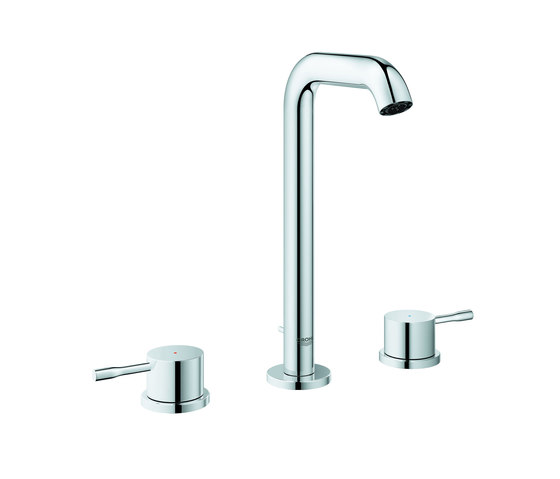 Essence 3-hole basin mixer L-Size by GROHE | Wash basin taps