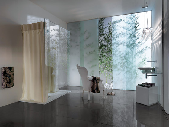 Open Shower Curtains by SAMO | Shower curtains