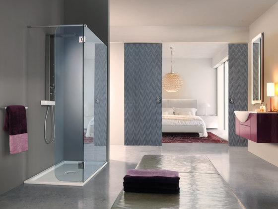 Open Side by SAMO   Shower screens