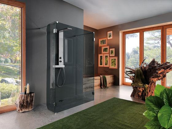 Open Screen by SAMO | Shower screens