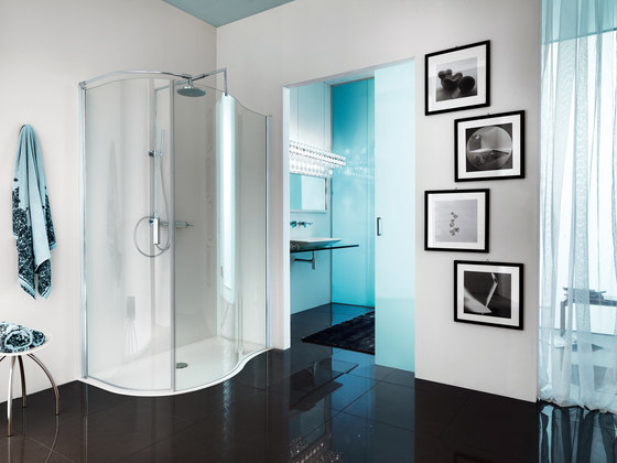 Open Spin by SAMO | Shower screens