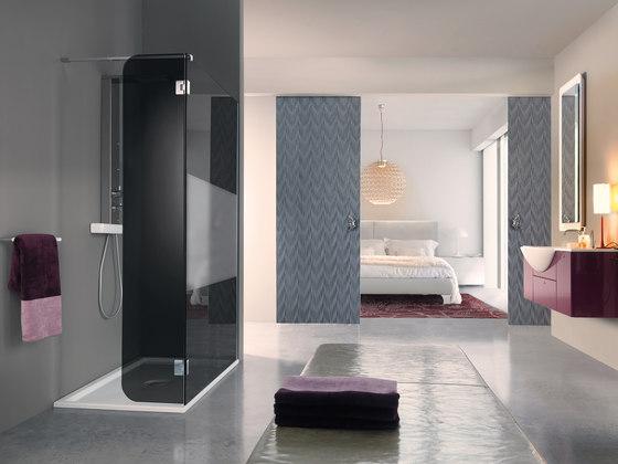 Open Side by SAMO | Shower screens
