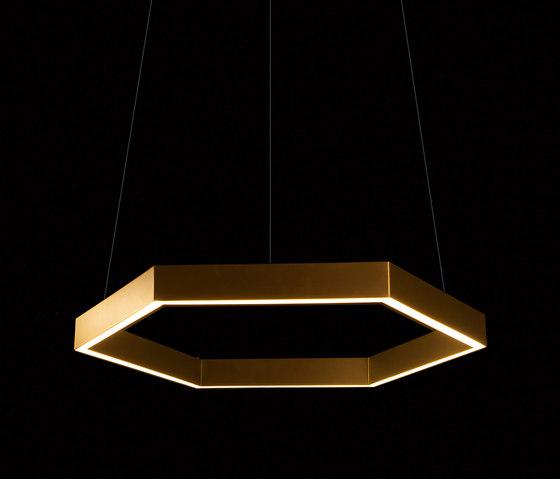 Hex 750 Brass Pendant von Resident | Pendelleuchten