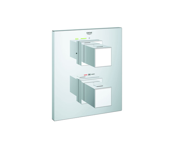 Grohtherm cube termostato de ducha 1 2 grifer a para for Telefono ducha grohe