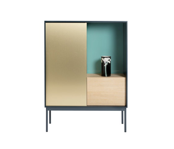 Besson Cabinet Deluxe deep blue by ASPLUND | Sideboards
