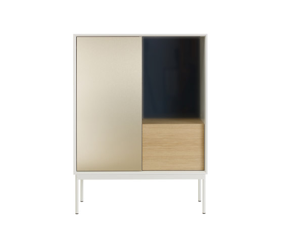 Besson Cabinet Deluxe white by ASPLUND   Sideboards