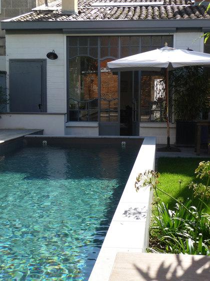 piscines piscines ext rieures piscines semi enterr es. Black Bedroom Furniture Sets. Home Design Ideas