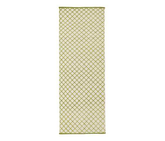 Grid Carpet pea green by ASPLUND | Rugs