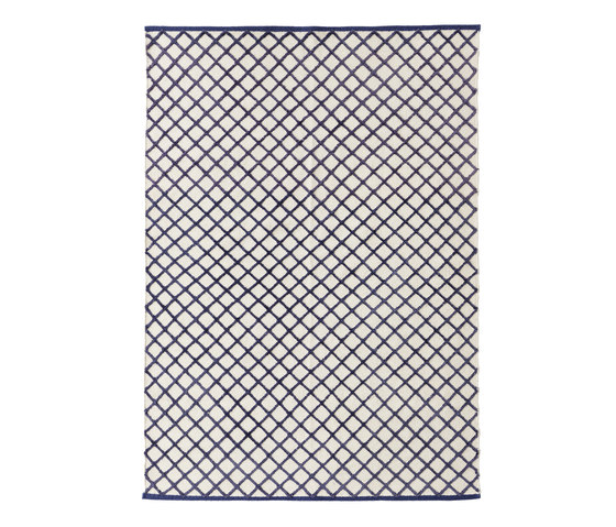 Grid Carpet purple by ASPLUND | Rugs