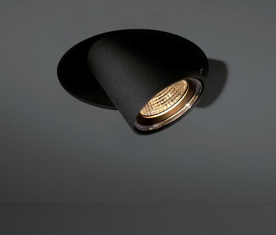 Chapeau trimless 222 LED GE di Modular Lighting Instruments | Lampade soffitto incasso