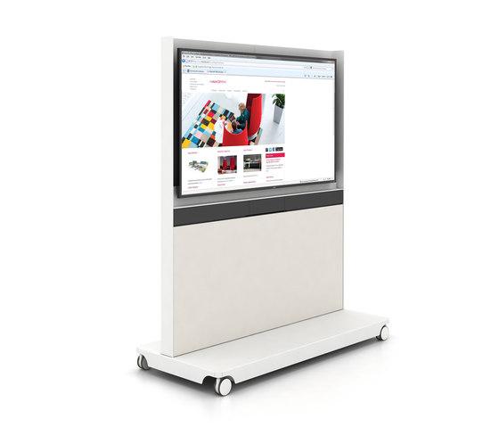 Workware® de Haworth | Soportes multimedia