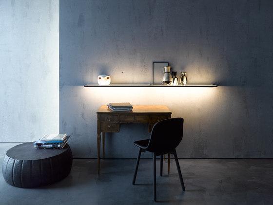 Glass shelf | GERA light system 4 by GERA | Shelving