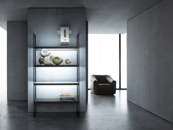 Light shelf 100 | GERA light system 6 de GERA | Illuminated shelving