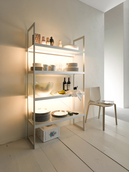 Light shelf 100 | GERA light system 6 by GERA | Shelving