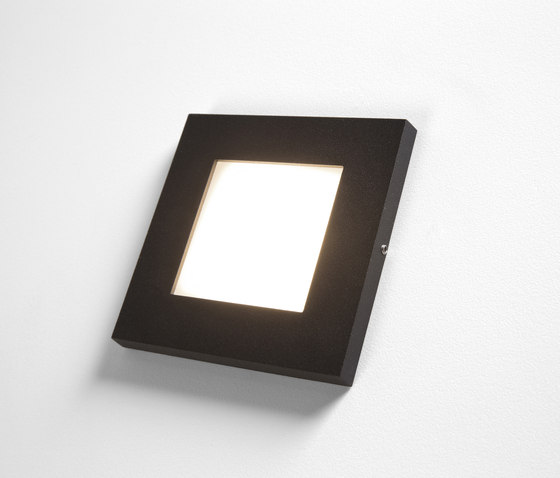Doze square wall LED by Modular Lighting Instruments | Recessed wall lights