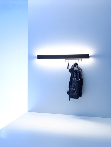 Coat rack light | GERA light system 8 by GERA | General lighting