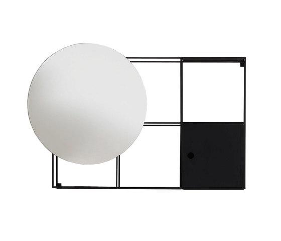 Felt wall-mounted cabinet von EX.T | Badregale