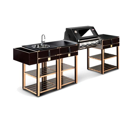 ocq Modular | Edition Wood bbq de OCQ | Barbecues