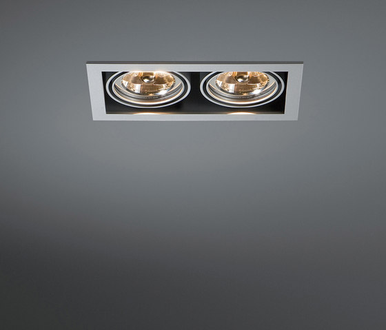 Mini multiple 2x AR70 GE by Modular Lighting Instruments   Recessed ceiling lights