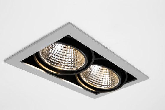 mini multiple 2x led retrofit spotlights from modular. Black Bedroom Furniture Sets. Home Design Ideas