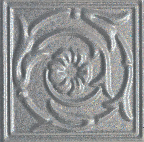 Ottocento Italiano tozzetto silver by Petracer's Ceramics | Ceramic tiles
