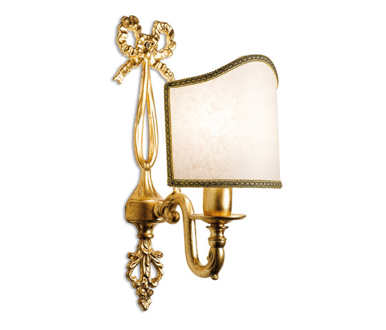 Ottocento Italiano appliques oro di Petracer's Ceramics | Lampade parete